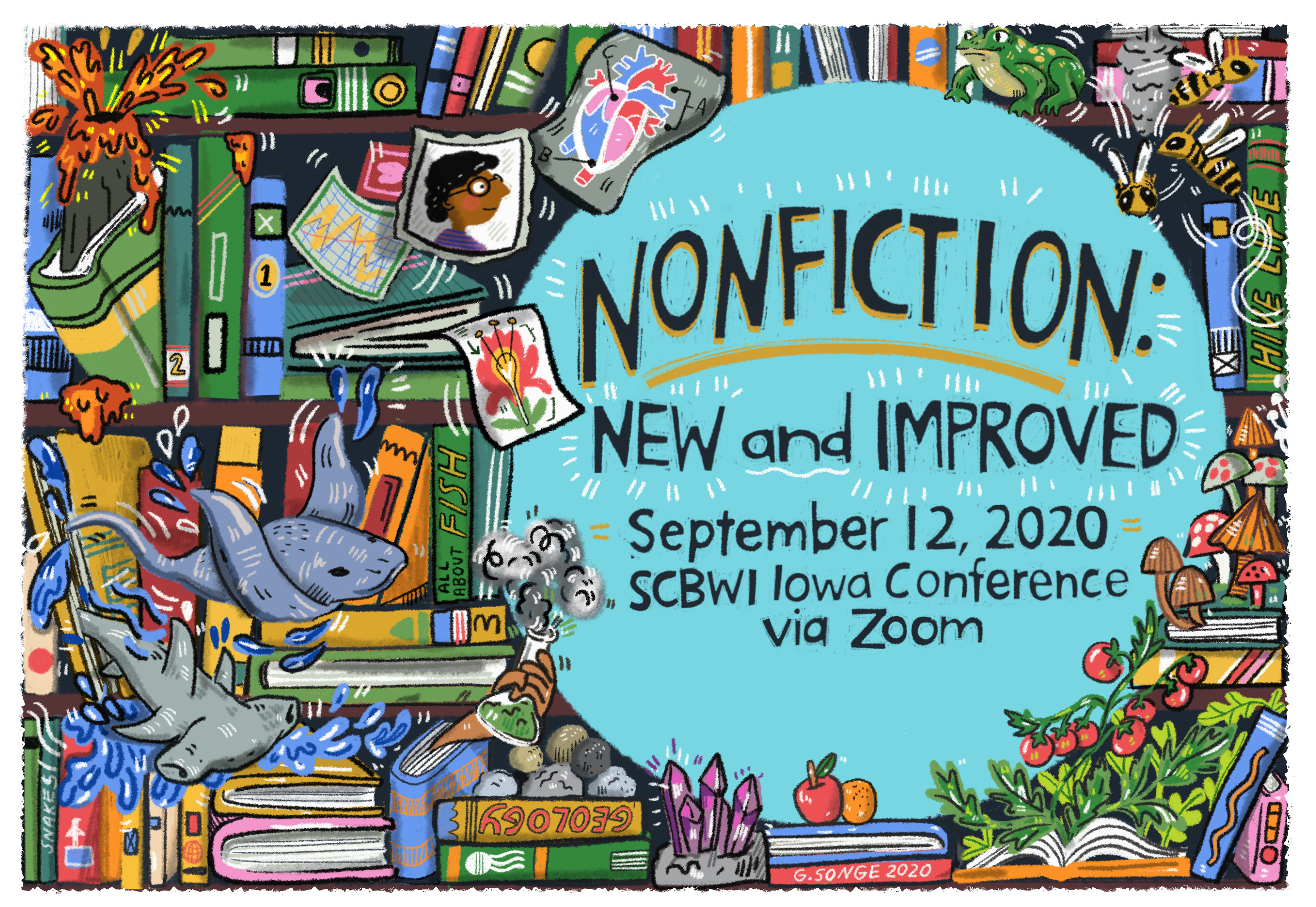 Non-Fiction: New and Improved! Online one-day conference September 12th, 2020. $50 for members. $75 for Non-members. Registration opens July 18th, 2020 at 10am CST. Click here to learn more about the event here.